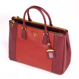 Prada Large Saffiano Double Zip Tote Bags Prada - Shop authentic new pre-owned designer brands online at Re-Vogue
