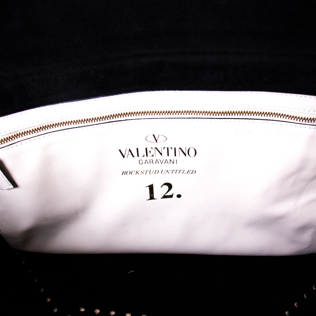 Valentino Large Rockstud Untitled #12 Tote Bag Bags Valentino - Shop authentic new pre-owned designer brands online at Re-Vogue