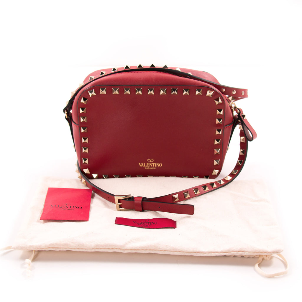 Valentino Rockstud Camera Bag Bags Valentino - Shop authentic new pre-owned designer brands online at Re-Vogue