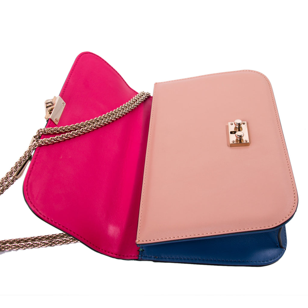 Valentino Rockstud Glam Lock Flap Bag Bags Valentino - Shop authentic new pre-owned designer brands online at Re-Vogue