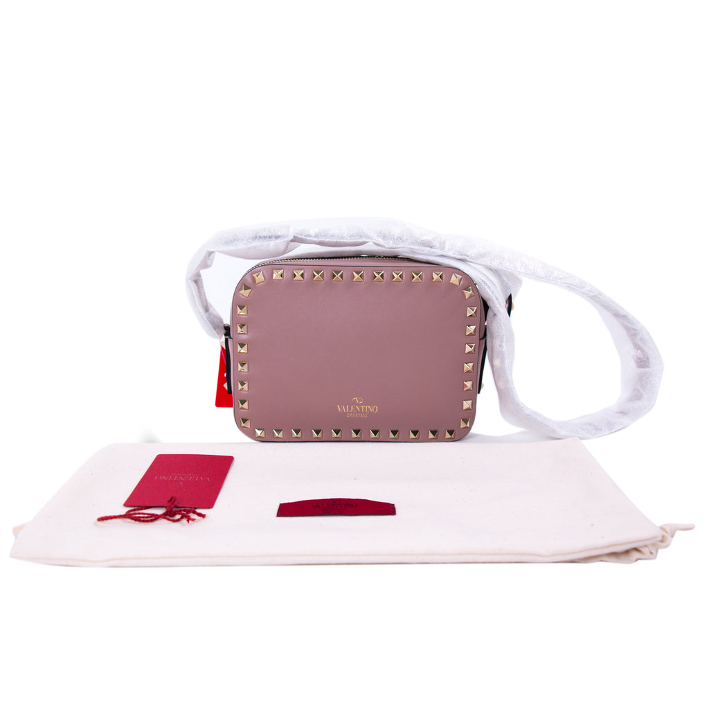 Valentino Rockstud Camera Cross Body Bag Bags Valentino - Shop authentic new pre-owned designer brands online at Re-Vogue