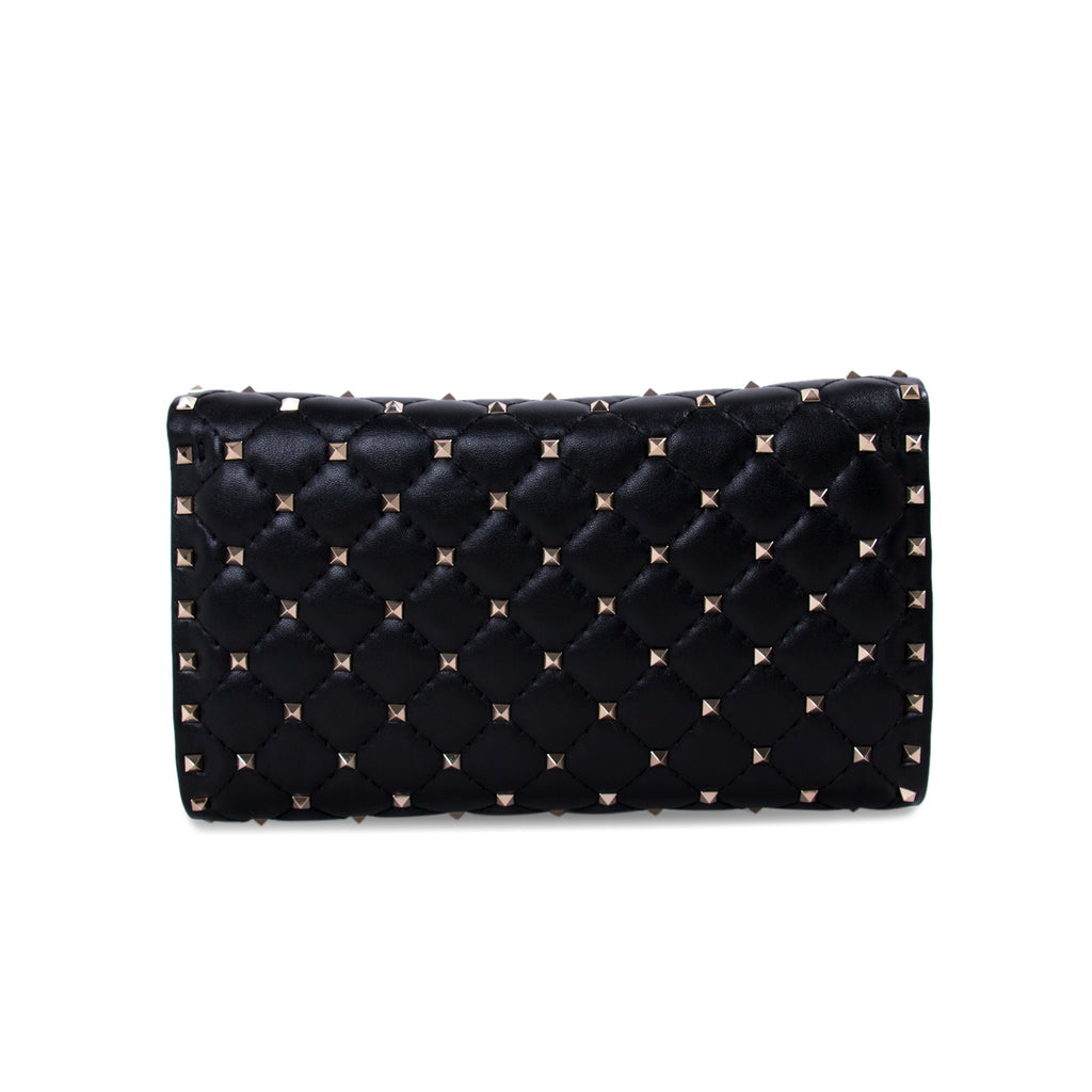 Valentino Rockstud Spike Wallet on Chain Bags Valentino - Shop authentic new pre-owned designer brands online at Re-Vogue