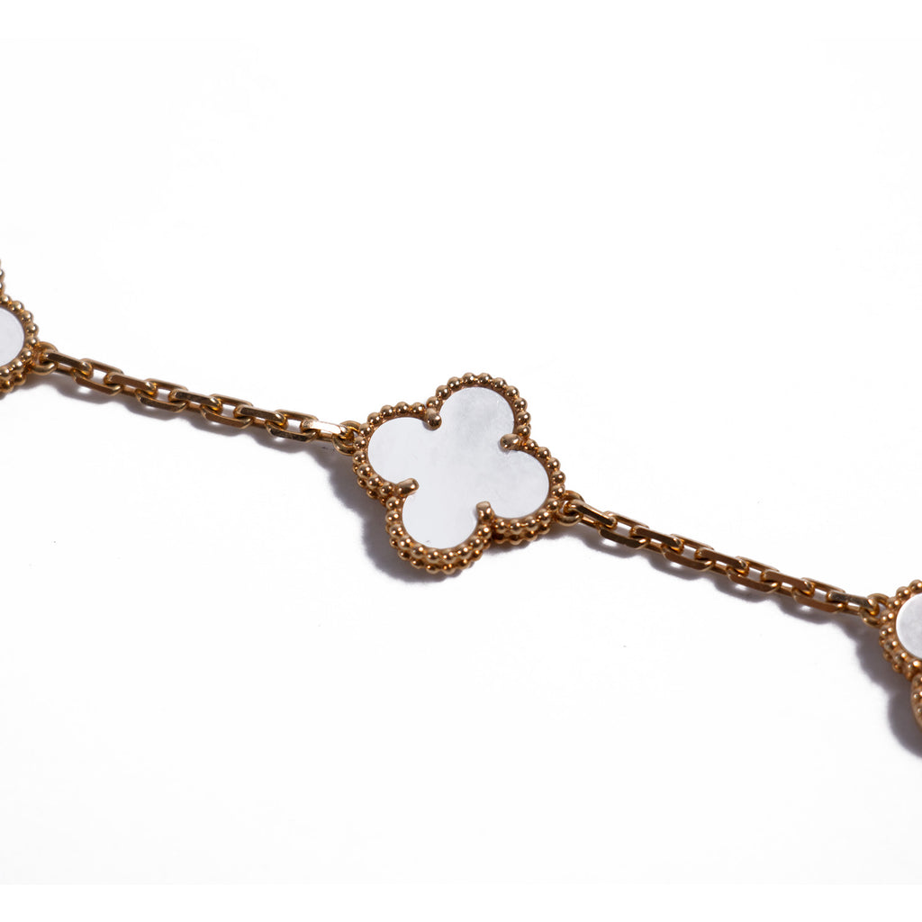 Van Cleef & Arpels Alhambra 5 Motifs Bracelet Accessories Van Cleef & Arpels - Shop authentic new pre-owned designer brands online at Re-Vogue