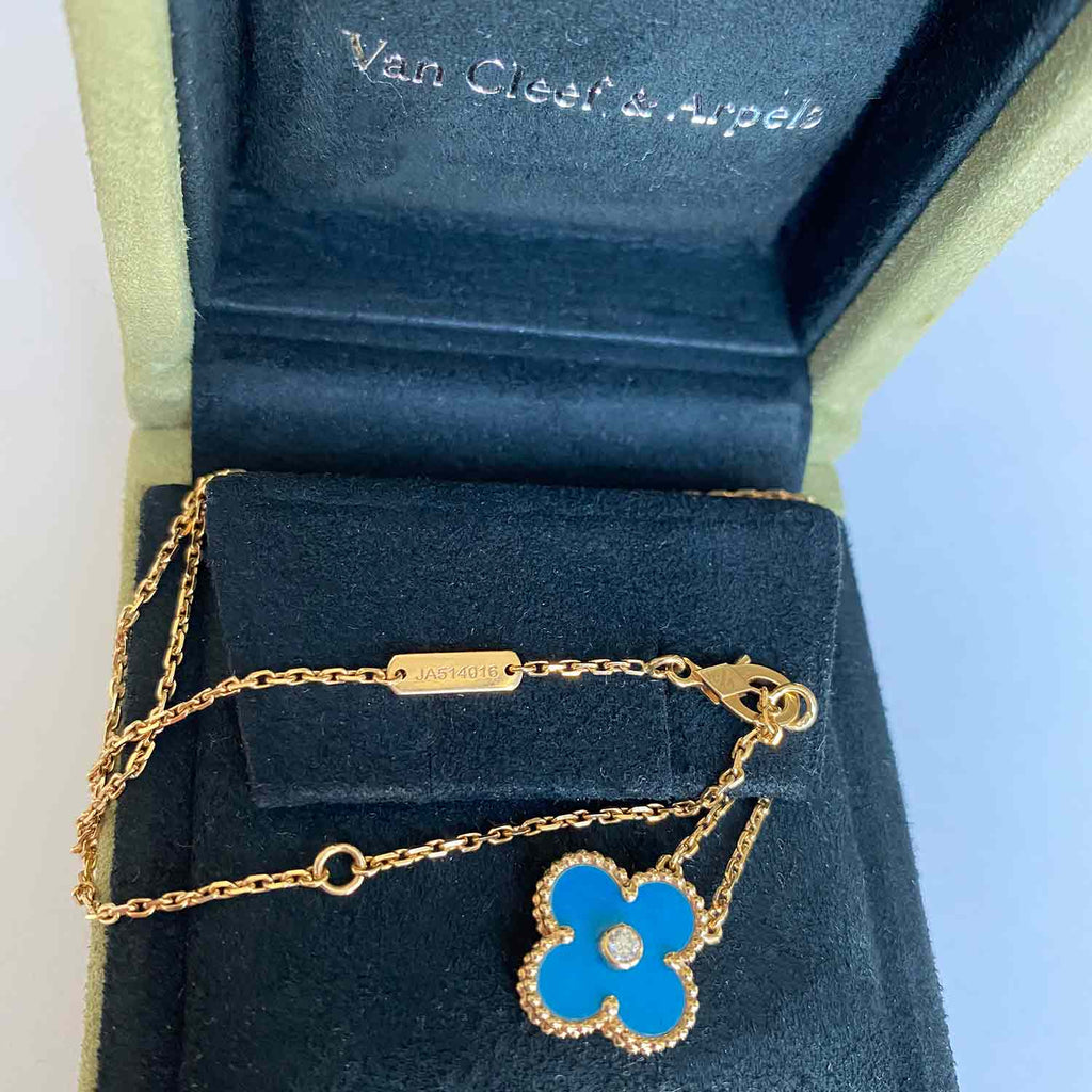 Van Cleef & Arpels Limited Edition Vintage Alhambra Necklace