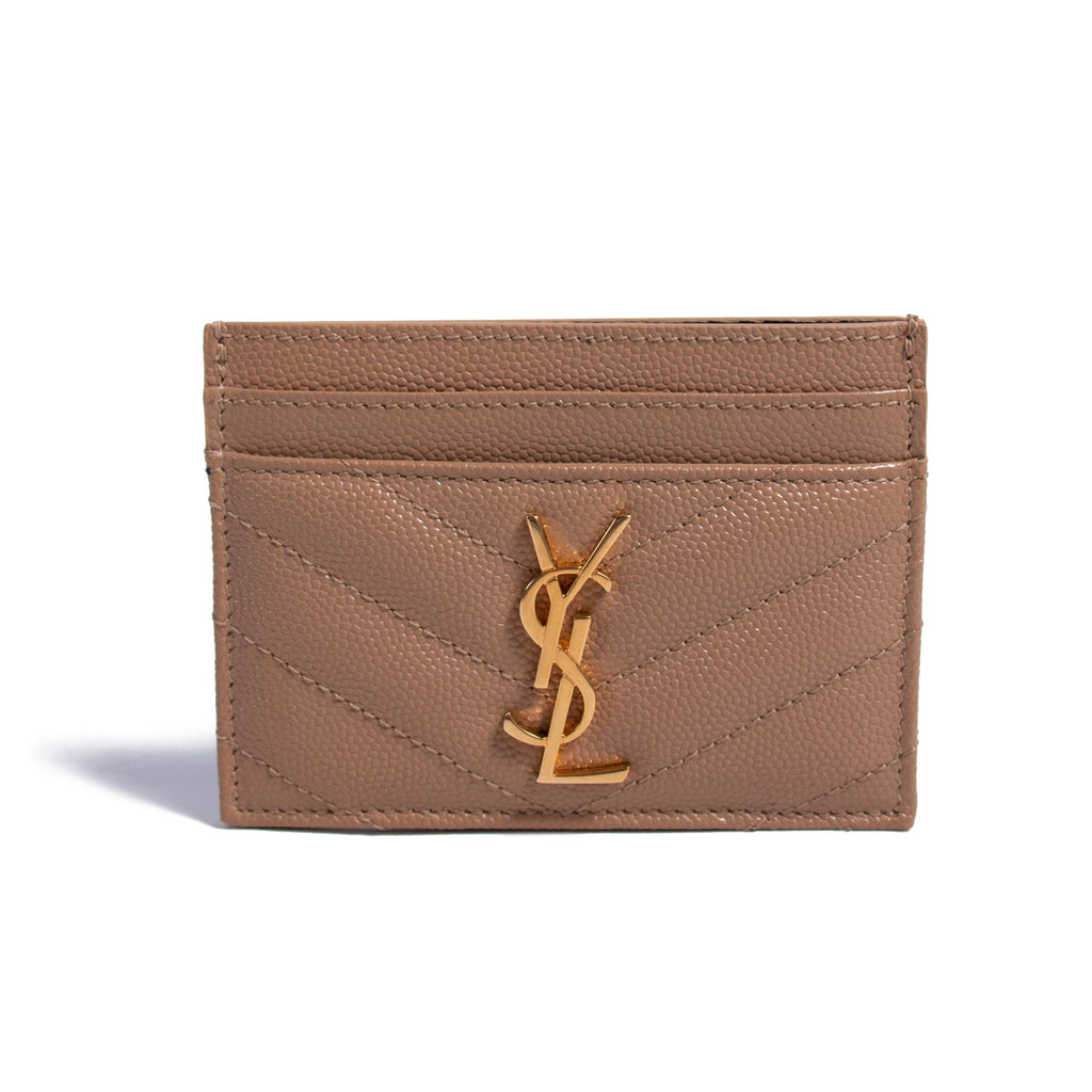 5ee37811b82 Shop authentic Saint Laurent Monogram Card Holder at revogue for ...