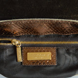Dolce&Gabbana Snake Skin Shoulder Bag - revogue