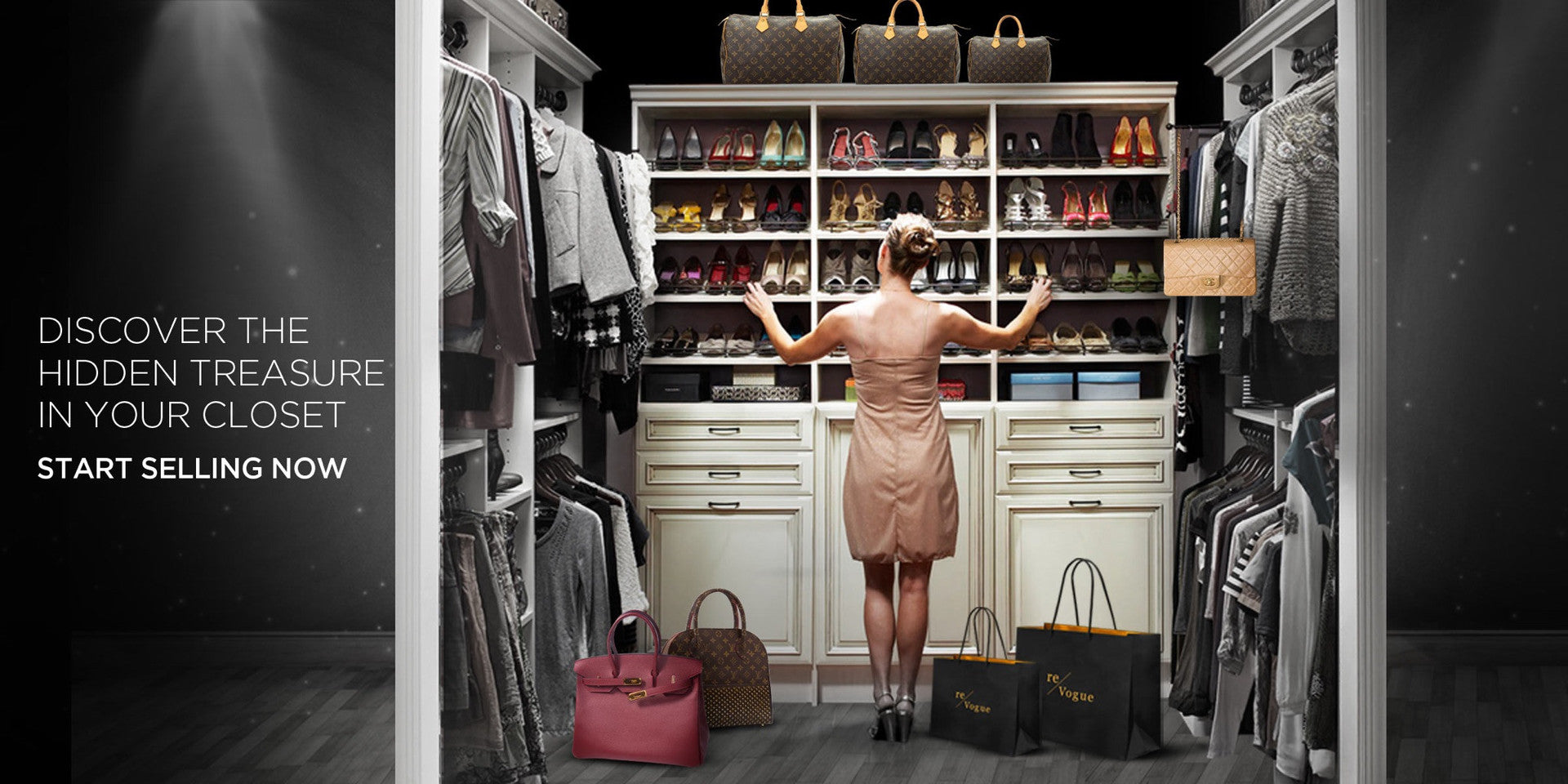 Sell And Consign Authentic Pre-Owned Luxury Handbags Online at Re-Vogue UAE - Sell your items online in Dubai UAE