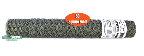 Digger's RootGuardTM 2 Foot x 25 Foot (50 Sq Ft) Gopher Wire Roll