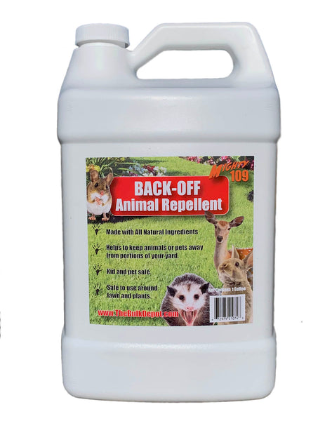 MIGHTY109 BACK-OFF Animal Repellent - 1 Gallon