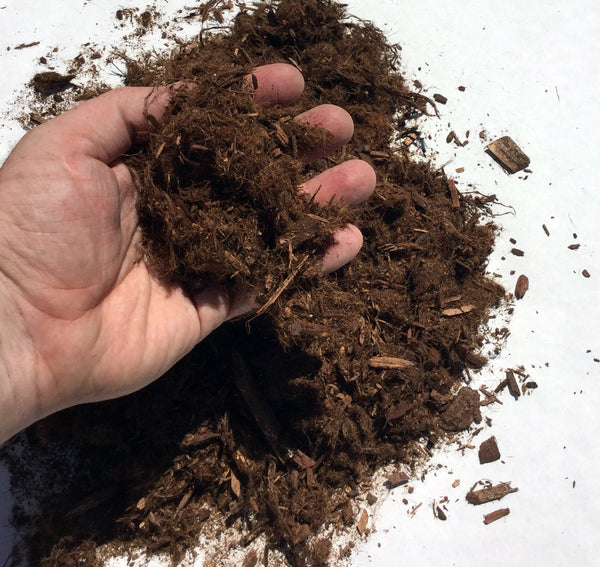 "Mighty109 ""Gorilla Hair"" Shredded Redwood Mulch"