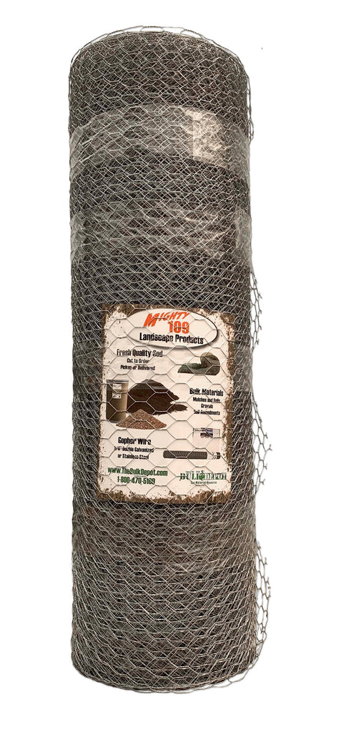 "MIGHTY109 General Purpose 1"" - 20 Gauge Galvanized Wire Mesh"