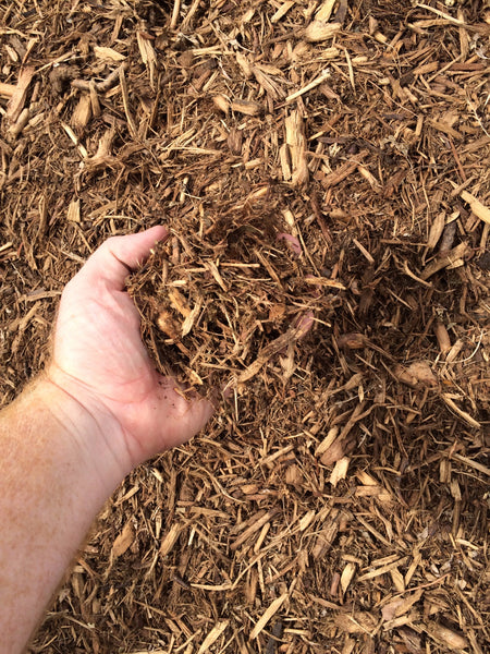MIGHTY 109 Course Natural Recycled Mulch