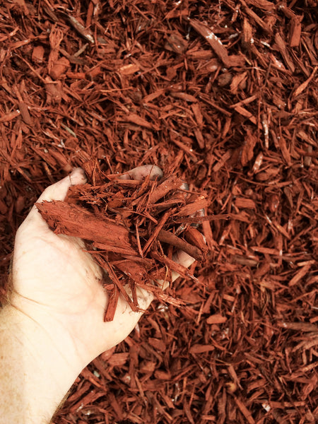 MIGHTY 109 Raging Red Mulch, Bulk - Northern California Special