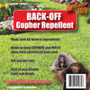 MIGHTY109 BACK-OFF Gopher Repellent - 1 Gallon