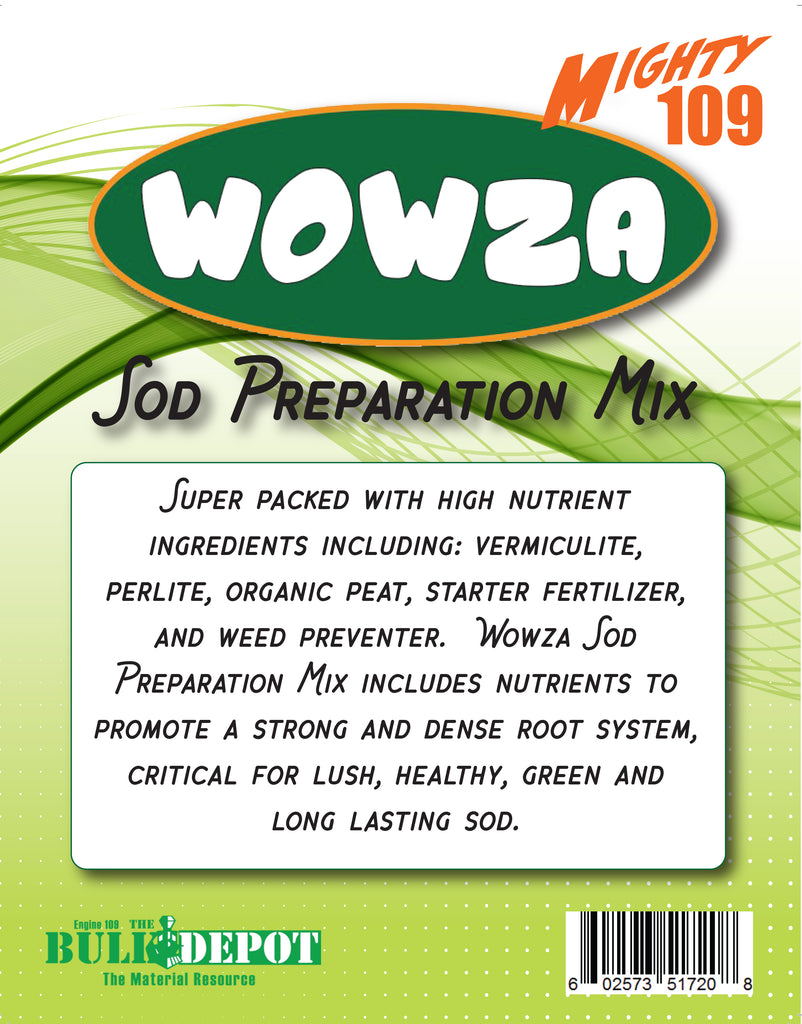 "MIGHTY 109 ""Wowza"" Sod Preparation Mix"