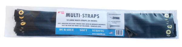 MIGHTY 109 MULTI-STRAPS, 10-Pack, Large (24 Inch)
