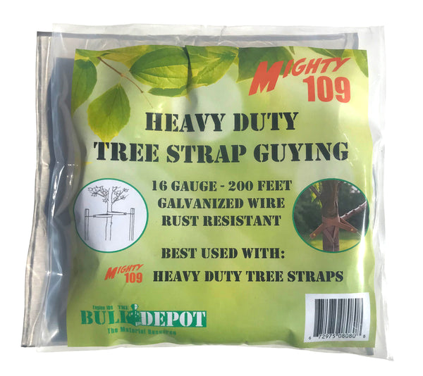 MIGHTY109 Heavy Duty Tree Strap Guying - 200 Feet!