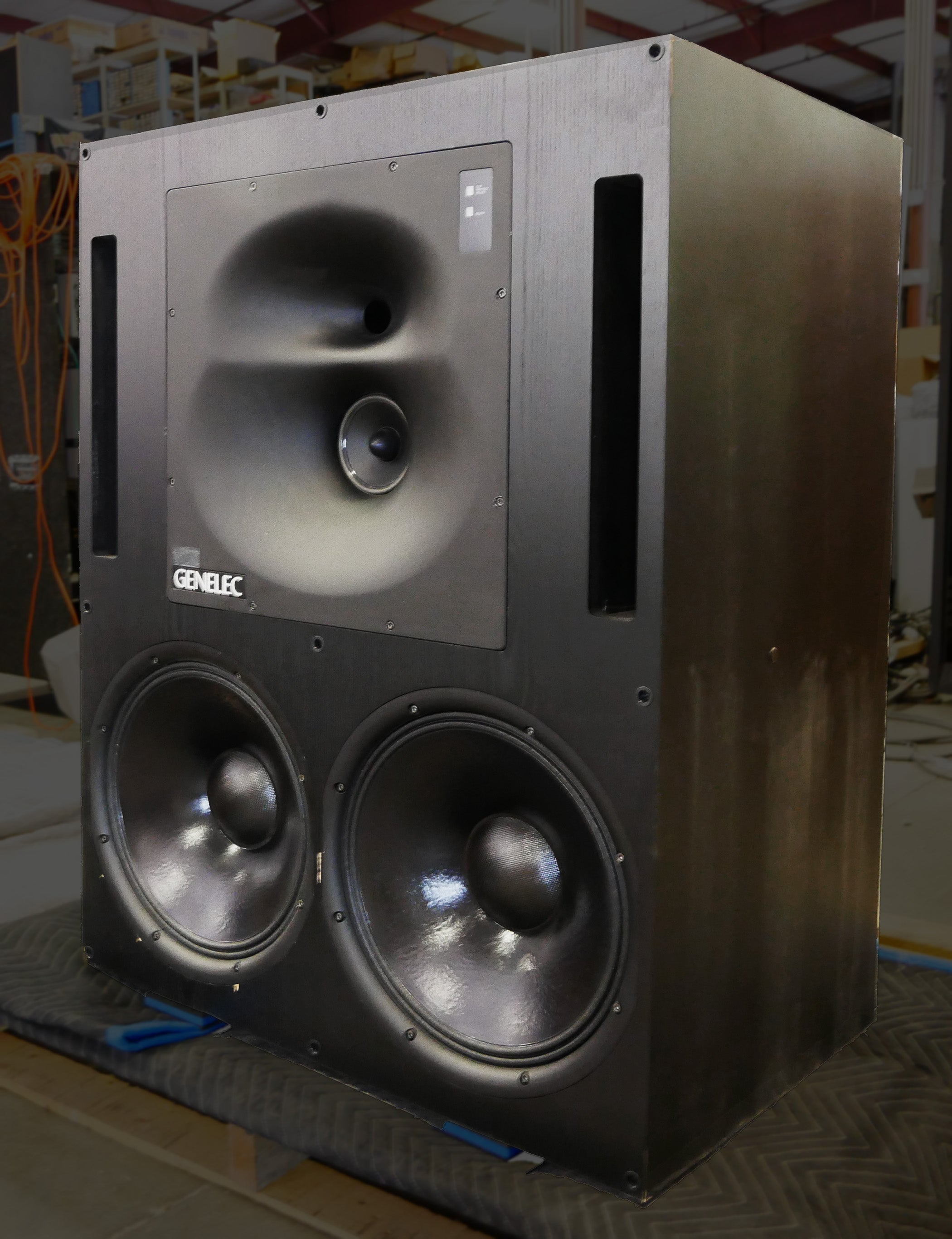 Genelec 1039a Main Monitor System Lcr With Subs Professional Subwoofers Will Consistent Power To Both Maximizing Your
