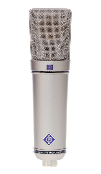 Neumann U89 I-Large Diaphragm Microphone-Nickel