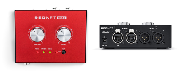 Focusrite RedNet AM2 Headphone Amp and Line Output