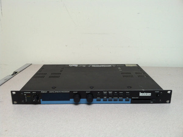 Lexicon PCM 81 Digital Effects Processor (used)