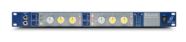 Focusrite ISA TWO Classic Two-Channel Mic Preamp