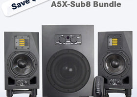 ADAM Audio A5X-Sub8 Bundle (2.1)