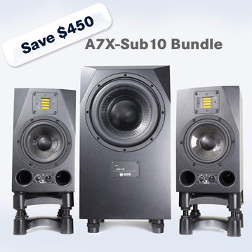 ADAM Audio A7X-Sub10 2.1 Bundle
