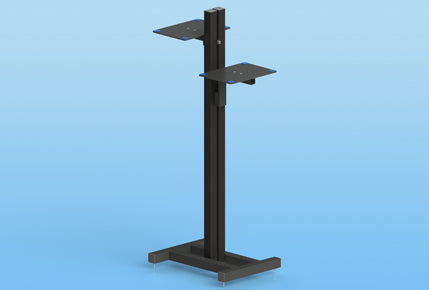 Sound Anchor ADJ3 Pair Stands for 2 Monitors 56