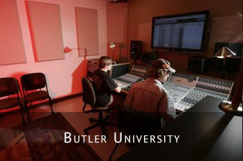 BUTLER UNIVERSITY INTENSIFIES AUDIO EDUCATION