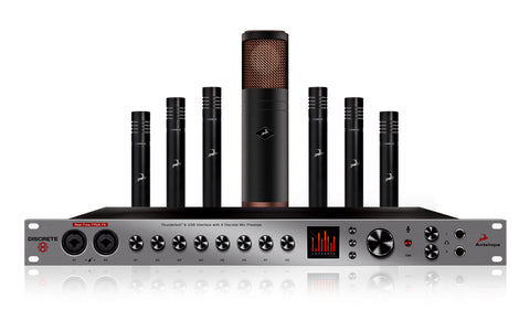 Antelope Audio Discrete 8 with Edge and Verge Mic Bundle-Preorder
