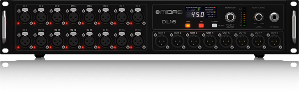 Midas DL-16 Digital Staging box