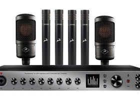 Antelope Audio Discrete 8 with 2x Edge Solo and 4x Verge Mic Bundle