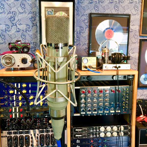 vintage telefunken ela m 251e tube microphone professional audio design inc. Black Bedroom Furniture Sets. Home Design Ideas