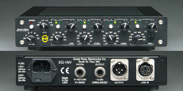 Great River Electronics EQ-1NV One-Channel Equalizer