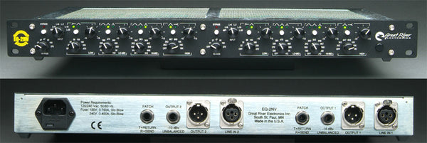 Great River Electronics EQ-2NV Two-Channel Equalizer