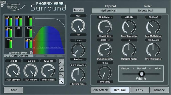 iZotope Exponential Audio PhoenixVerb Surround