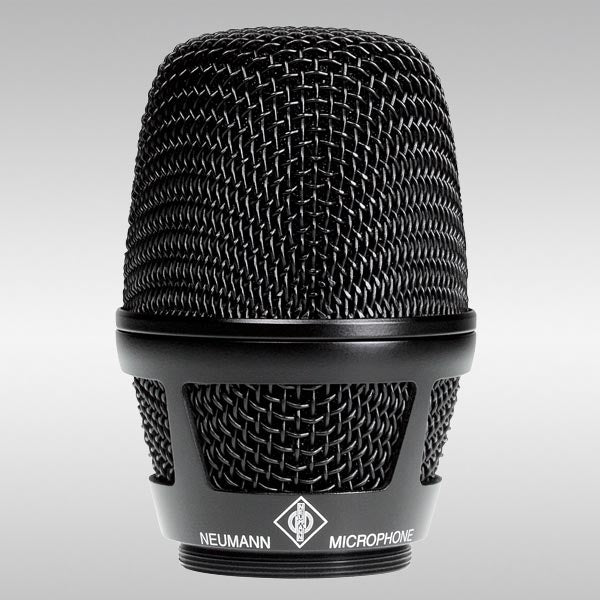 Neumann KK 205 Condenser, supercardioid Wireless Handheld Capsule-Black
