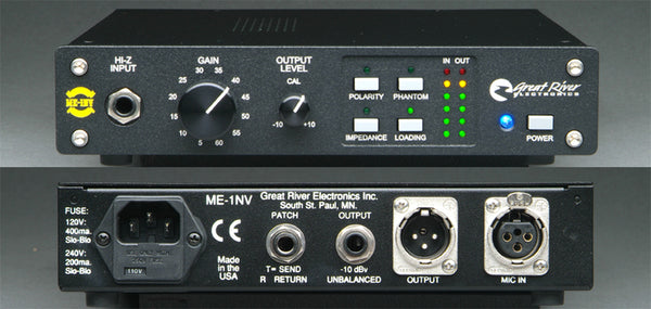Great River Electronics ME-1NV One-Channel Mic Preamp
