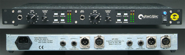 Great River Electronics MP-2NV Two-Channel Mic Preamp