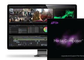 Avid Media Composer Annual Upgrade & Support Plan Renewal Retail