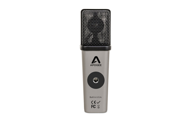 Apogee MiC Plus—USB Microphone with Headphone Out for iOS, Mac & Windows (Includes Tripod & Stand Adapter)