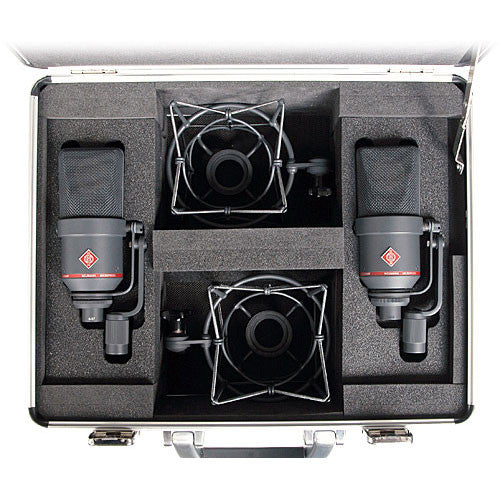 Neumann TLM 170 R MT-Stereo Factory matched Large Diaphragm Microphone-Black *Special Order*