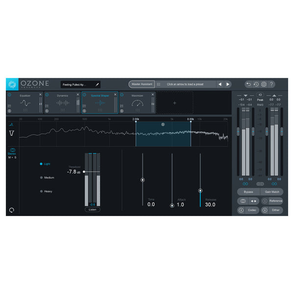 iZotope Ozone 8 - Upgrade from Ozone 1-7 (Standard or Advanced)