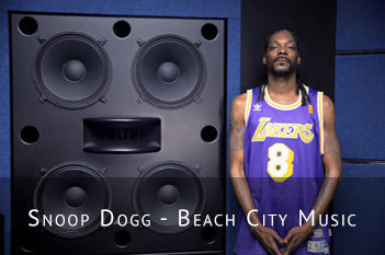 Snoop Dogg's Augspurger Quattro Active Main Monitor System