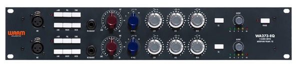 Warm Audio WA273-EQ Dual Channel British Mic Pre with EQ