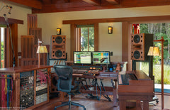 Duo 8 MiniMains at Woodshed Studios, Malibu