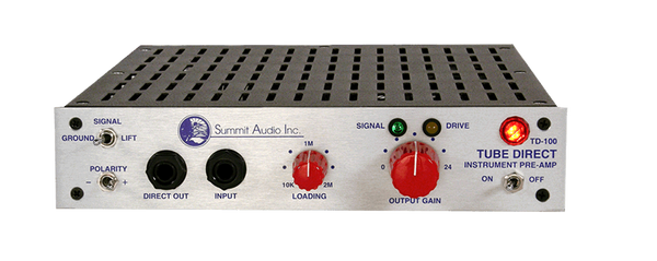 Summit Audio TD-100 Instrument Preamp/Direct Box