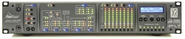 Prism Sound ADA-8XR 8-Channel Modular AD/DA Converter with 8C-FW Module (FireWire only)