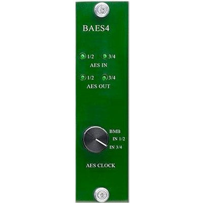 Burl Audio BAES4 4-Channel AES3 Daughter Card for the B80/B16 Mothership